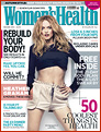 Karin's client Heather Graham on the cover of Women's Health UK
